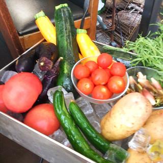 地域密着!地元で採れた三鷹農園のお野菜はとっても美味しいです