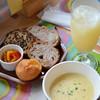 シェポール - 料理写真:めるころパンと季節のスープセット♡