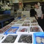 華錦飯店 - ここで鮮魚を選びます