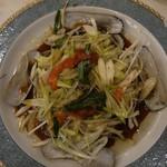 華錦飯店 - マテ貝の醤油蒸し