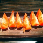 詩鶏 - 冷やしトマト