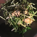 和伊話云 - ツナと水菜のわさび和え