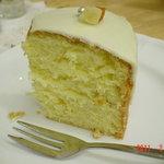 ティーハート - 柚子のケーキ