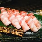 詩鶏 - 三元豚の焼きしゃぶ