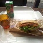 パン屋のオヤジ - ハム&チーズのミルフィーユカツ&ミックスジュース