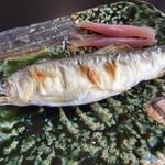 蕎麦処 空庵 - 鮎の塩焼き