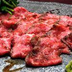 肉割烹のローストビーフ