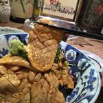 よね家 - よね家(東京都中央区日本橋蠣殻町)とりわさ丼(昼食時のみ)並