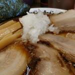 野郎ラーメン - 初の竹岡式。美味しい予感がギュンギュンします。
