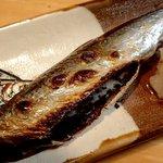 厚田港朝市  - 鰊丸干;チト小振りな魚体で脂乗りは程々 @2017/05/25