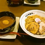 山なか製麺所 - 濃厚魚介鶏つけ麺800円
