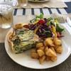 エディションカフェ - 料理写真:キッシュランチとジンジャーエール