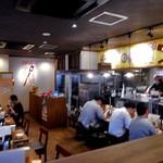 麺作 赤シャモジ - テーブル席 & カウンター席
