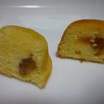 67556967 - レモンケーキはマロングラッセ入り、100%レモン果汁のジュレは酸っぱいバージョン