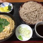 蕎麦処 玉川屋 - 玉子丼セット(せいろ)