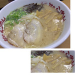 山小屋 - シナチクラーメン 730円