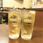 立ち飲み日高 - 下町酎ハイ ¥250 / ハイボール ¥ 270