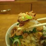 つけ麺専門店 二代目YUTAKA - 飯モノは別腹ってことで