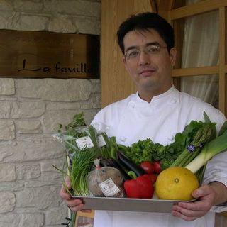 無農薬野菜を使用した旬のお野菜のコースもご用意☆