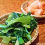 喜福世 - 小松菜ナムル&カクテキ