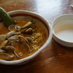 麺工房 茜屋 - 料理写真:ボンゴレラーメン
