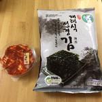 キムチのほし山 - 料理写真:キムチ ¥350  韓国ノリ ¥480