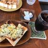サニーカフェ - 料理写真:海苔チーズトースト¥480