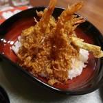 みはらし - 料理写真:えび天丼1200円