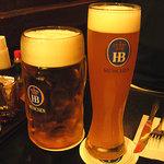 6757384 - ホフブロイのビール・何倍飲んだか