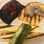 ラ・フレッチャ - 前菜:牛/タコ/チーズ