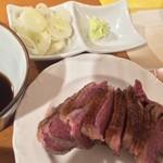 ラ・フレッチャ - マグレ鴨と本枯節冷汁