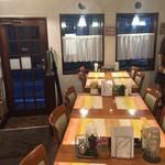 ラ・フレッチャ - テーブル16席