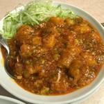 67570350 - 白身魚の四川風のお料理。