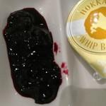 千疋屋総本店 - ブルーベリージャムとバター