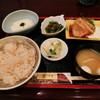 愛川 - 料理写真:麦とろ生姜焼き定食
