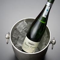 天ぷら新宿つな八 - おすすめ微発泡ワイン「チャコリ」