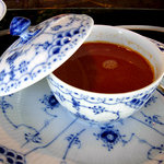 表参道うかい亭 - 貝のスープ(超ウマイ)