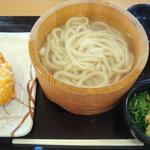 Marugameseimen - 釜揚げうどん(並)…280円→230円