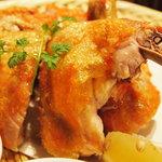 丸鶏 るいすけ - 丸鶏素揚げ(拡大)