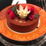 67596088 - アルモニー チョコレートとジャスミンのケーキ