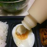 京華茶楼 - マヨネーズをトッピング