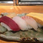 心寿司 - ネタは全て厚めでしたよ!