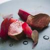 レストラン クロワサンス - 料理写真:蝦夷鹿肉のロースト ビーツと共に