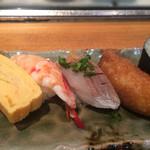 心寿司 - ふんわりと握られたお寿司でした。