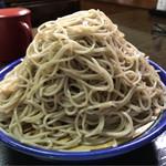 みの和 - 料理写真:皿そば アップ  このボリューム変わんない(ᵔᴥᵔ)