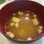 とん金 - 味噌汁