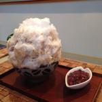 氷舎 ママトコ - お醤油黒糖みるくに酒粕クリーム&あずき