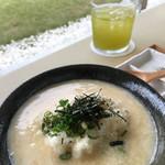 サングラムカフェ - 遠州らしいとろろ汁もまたお茶との相性よろし(^^)