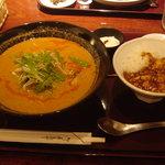 翠鳳 - 担担麺セット