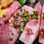 焼肉レストラン 八坂 あら川 - 和牛上カルビ
